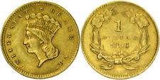 D85) USA 1 DOLLAR 1856 Liberty Head GOLD