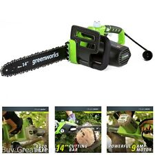 Electric Chainsaw 14 Inch Corded Motor Yard Tree Cutter Limb Branch Trimmer New