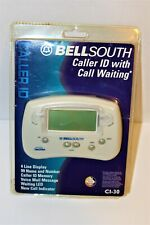 Bell South Telephone Caller Id with Call Waiting Ci-30 White 99 Number Memory