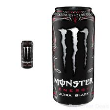 Monster Energy Ultra Black 16 Ounce Pack of 24