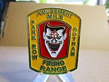 NYPD Firearms Instructor Amusement Mile Firing Range Gotham Joker Challenge Coin