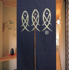 Japanese Noren Door Decorate Curtain Room Divider Blind Restaurant Pub Hanging S