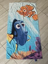 Disney Finding Nemo And Dory Beach Towel measures 24 x 48 inches