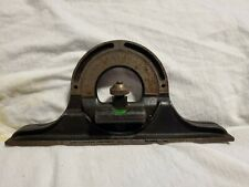 Vintage Brown & Sharpe Precision Machinists Protractor Head w/ Level USA