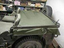 Willy's Jeep MB, Ford GPW, Abdeckplane hinten, hintere Abdeckplane