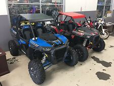 2018 POLARIS RZR XP Turbo/1000 ALUMINUM  ROOF + LOWER HALF DOOR PANELS RED BLACK