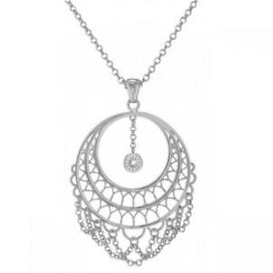 Collana Lunga Donna STROILI FRIDA 1607889 Pendente Charms Lady Silver