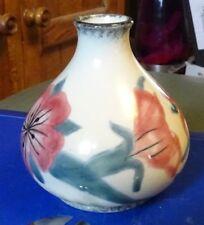 Cobridge Corn Cockle Vase FREE P&P +