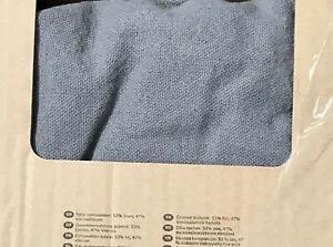 IKEA Nockeby 2 Seat Sofa Cover RISANE GRAY Loveseat Slipcover Linen Blend