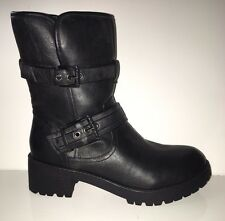 NEW G by GUESS Netty Women's Boots Black Shoes sz 8