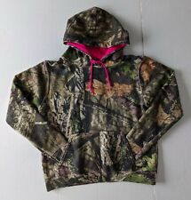 Mossy Oak Camouflage Hoodie With Pouch Medium