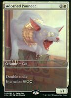 Adorned Pouncer FOIL | NM | Game Day Promo | Magic MTG