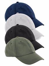Breathable GREEN BLUE GREY or BLACK Waterproof Nylon Baseball Cap Hat Visor