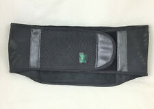 Nikken KenkoTherm Back Belt / Wrap ~ Black, Size Medium (M)