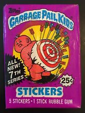 1987 Garbage Pail Kids 7th Series Unopened Pack, 1 Unopened Wax Pack, TWT