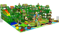 13,500 sqft Commercial Indoor Playground Themed Interactive Soft Play We Finance