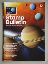 Australia Post Stamp Bulletin Issue No. 336 Sep - Oct 2015 Our Solar System