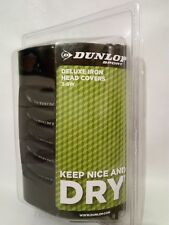 BRAND NEW DUNLOP SPORT DELUXE IRON HEAD COVERS 3-SW
