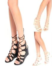 Mid Heel (1.5-3 in.) Strappy Unbranded Shoes for Women