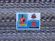 Carnell Williams Rookie Throwback Rookie Jersey Cards. Topps 50th. Anniv.
