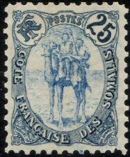 Somali Coast 41a Indigo & Blue Variety 1903 Unused No Gum