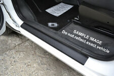 Carbon Film Door Sill Protectors for BMW X3 E83 2004-2010 Threshold Vinyl Foils