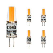 G4 LED 12V/DC Warmweiß kerze ,5er Pack,2W=20W Leuchtmittel,lampe,COB,kobos-led