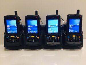 4 x Motorola Symbol MC75A6 Barcode 2D Scanner Mobile PDA Computer MC75A + Cradle