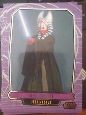 Star Wars 2012 Galactic Files 1 #65 Shaak Ti Jedi Master NrMint-MINT