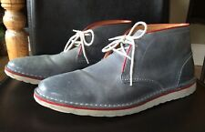 Mens Clarks Leather Desert Boots, Light Weight Size 9, In Great Condition