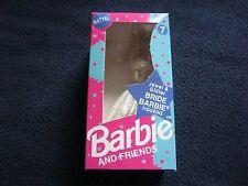 MATTELL VINTAGE BARBIE & FRIENDS figura # 07 gioiello & Glitter Sposa Nuovissima