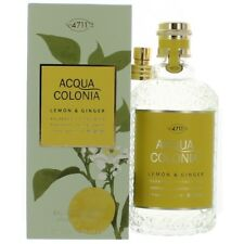 Acqua Colonia Lemon & Ginger 5.7oz Eau de Cologne Splash/Spray Unisex NEW