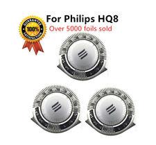 3 X Qualité Philips Compatible Hq8 Tête de Rasage Lames Rasoir Coupeur Stock Ru