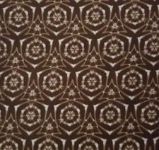 Noir Sepia BTY Timeless Treasures Brown Ivory Geometric 100% Cotton Fabric