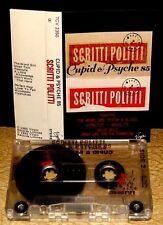 SCRITTI POLITTI     - CUPID & PSYCHE 85 -                          Cassette Tape