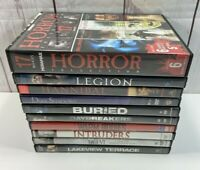 DVD Lot (10) - Scary Thriller Suspense Halloween Movies - Horror Collection