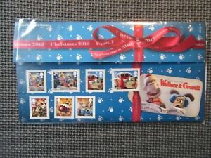 2010 G.B Presentation Pack - Christmas 2010 Wallace & Gromit - Pack 448