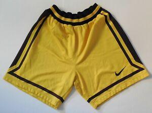 Nike Basketball Shorts Vintage Yellow Black KK Split Jugoplastika Size XXL