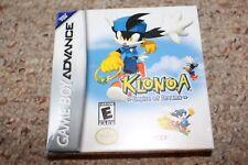 Klonoa Empire Of Dreams (Nintendo Game Boy Advance GBA) NEW Factory Sealed