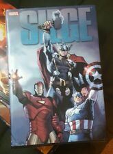 SIEGE Hardcover HC Deluxe Omnibus Bendis Avengers Thor Marvel Comics