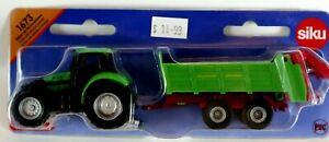 Tractor with Universal Spreader Diecast Kids Farm Toy SIKU 1673  NEW