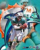 """DAN MARINO """"Miami Dolphins"""" logo LICENSED un-signed poster picture 8x10 photo"""