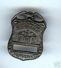 Jersey City police Sergeant mini Badge