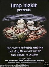 Limp Bizkit 2000 Chocolate Starfish Original Promo Poster