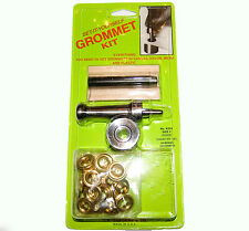 Grommet Kit, Set It Yourself, Size 2, Brass Grommets, K234