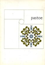 1965 Pastoe Catalog Midcentury Interior Design and Furniture