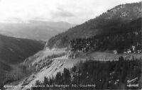 1940s Western Slope Monarch Pass Highway 50 Colorado Sanborn RPPC 3400 postcard