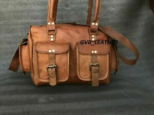 Women Genuine Beautiful Leather Handbag Shoulder Bag Large Tote Stylish Satchel