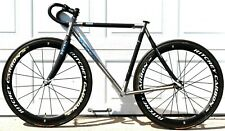 Seven Luma Titanium & Carbon Handmade USA 54cm Road Bike FRAMESET Elium 622 id8