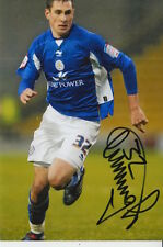 LEICESTER CITY HAND SIGNED GREG CUNNINGHAM 6X4 PHOTO.